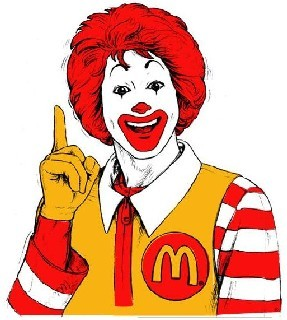"""Here's a McSecret: The real 'Happy Meal'? It's in my pants!"""