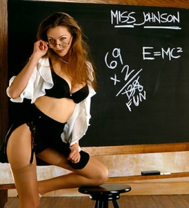"I'm a little affraid of a teacher named ""Miss Johnson""s potential ""pop quiz""."