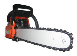 Chainsaw... it's what your face wants!